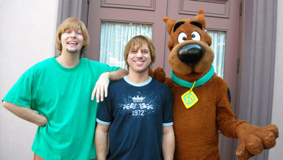 Pep, Shaggy and Scooby