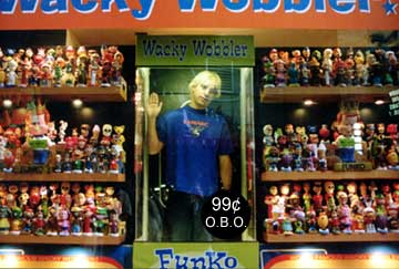 Pep wacky wobbler by funko