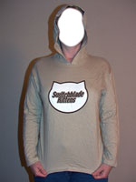 Tan Long-Sleeve Hoodie Shirt and CD Combo Pack