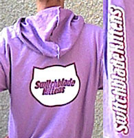 Purple Lightweight Hoodie with Snap Front and CD Combo Pack