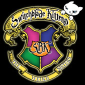 The Weird Sisters is Switchblade Kittens' second full-legth CD. Considered much more pop sounding than the 1st CD. It is 80's influenced power pop and was inspired by the Harry Potter books.