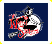 The Weird Sisters Witch Hoodie in Navy