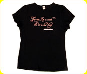 You say I'm a witch like it's a bad thing! -Black Girly Tee